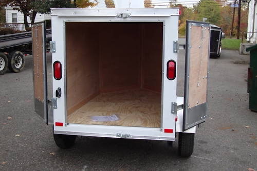 4x6 Small Enclosed Cargo Trailer Nj Cargo Trailer Nj