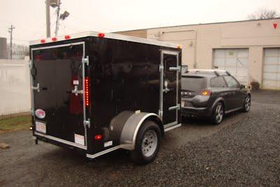 Cheap Used Tires Near Me >> 5x8 Slant Nose V-Nose - Cargo Trailer NJ